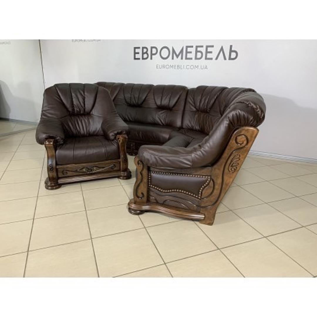 Акция на сутки ❗️новый  угловой диван и кресло на дубовом каркасе. Цена 2500$ на сутки 2000$ ‼️❗️ Киев ул. Пожарского 8. ☎️0503838532
