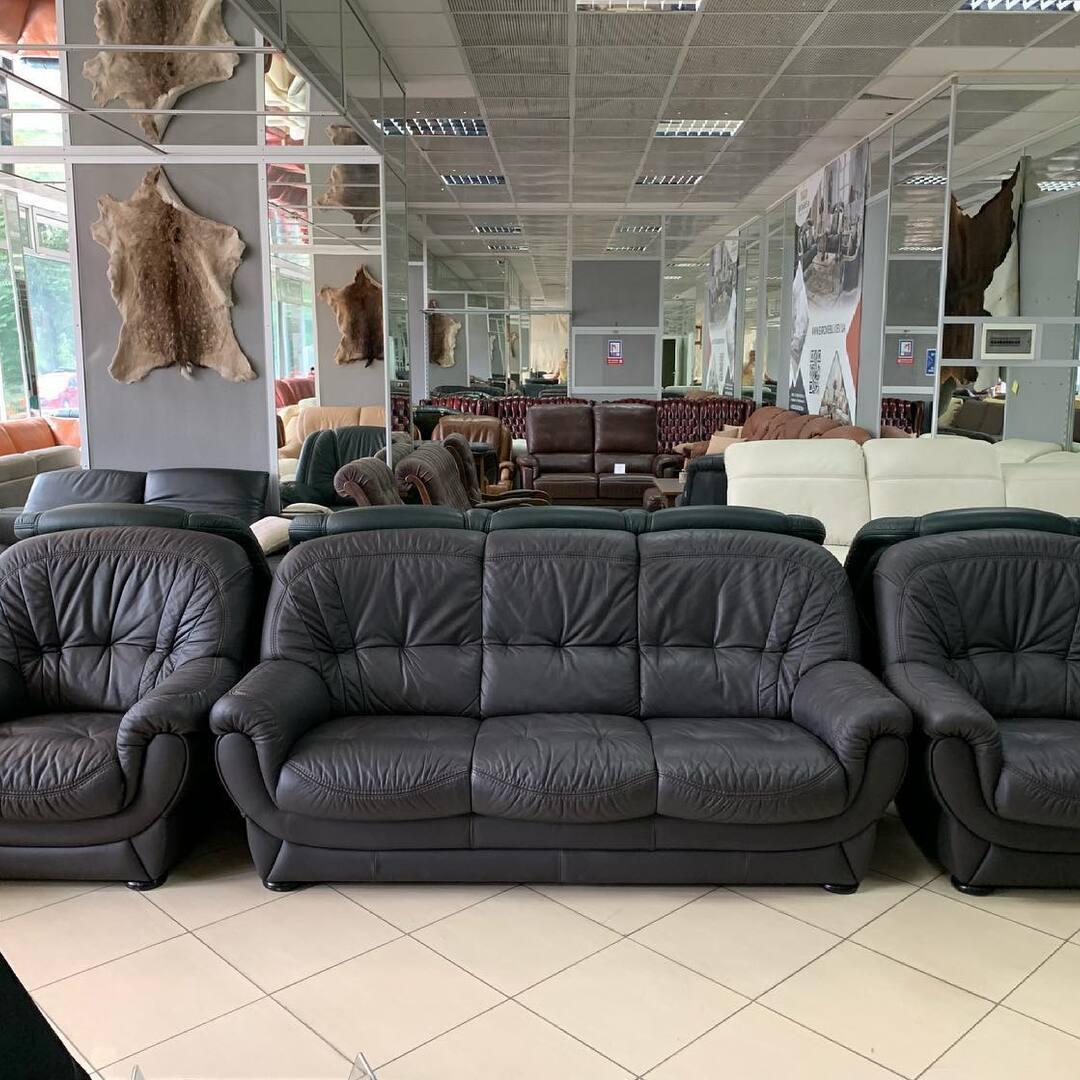 Кожаный комплект для вашего 🏡. Качественная Кожа , удобная посадка, красивый . Размер: диван : 195/95/90 см Кресло: 95/95/90 см 📌 Киев ул. Пожарского 8 ☎️ 0503838532. #кожаныйдиван #кожаныйдиванукраина #купитькожаныйдиван #кожанаямебель #магазинмебели #магазинмебельный #мебель #мебельукраина #мебелькиев #мебельдлядома #мебельодесса #мебельный #мебельдлякухни #мебельдляспальни #мебельизмассива #мебельдляванной #евромебель